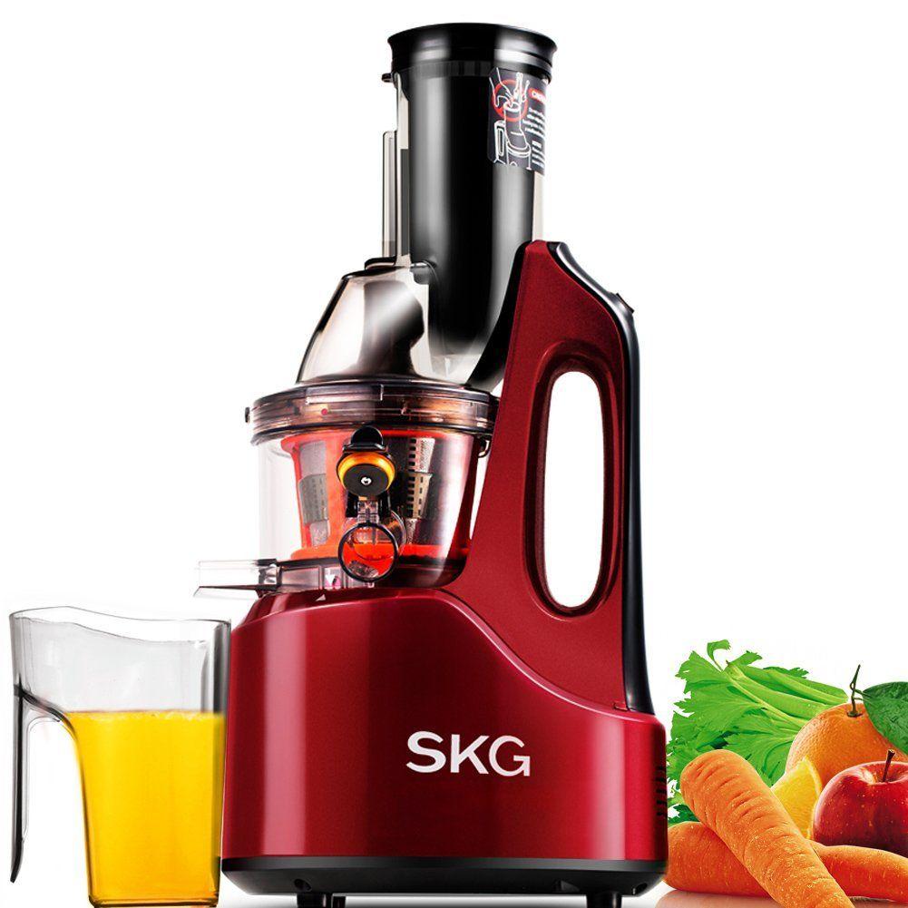 SKG Wide Chute Anti Oxidation Slow Masticating Juicer