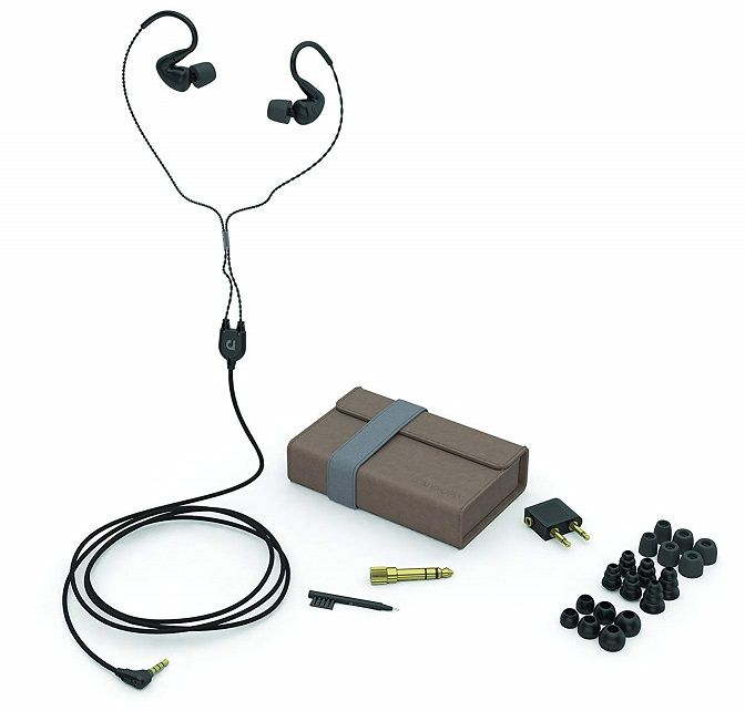 AudioFly - AF120 Hybrid Dual Driver Universal In-Ear Monitors