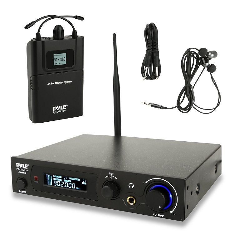 Pyle Audio in Ear Monitor and Receiver System