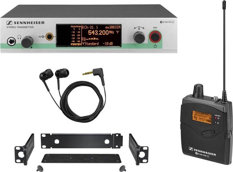 Sennheiser EW 300 IEM G3-G-US In-Ear Monitor EW system