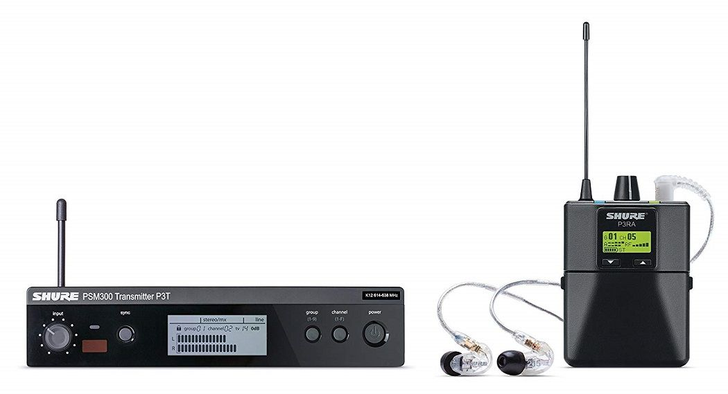Shure-P3TRA215CL-PSM300-Wireless-Stereo-Personal-Monitor-System