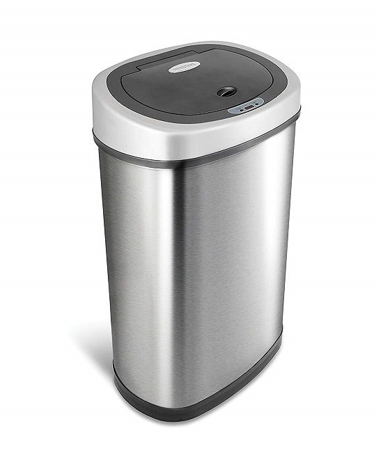 Auto Touchless Trash Can by Ninestars
