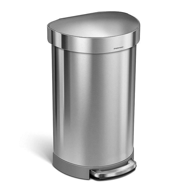 simplehuman-Semi-Round-Step-Trash-Can