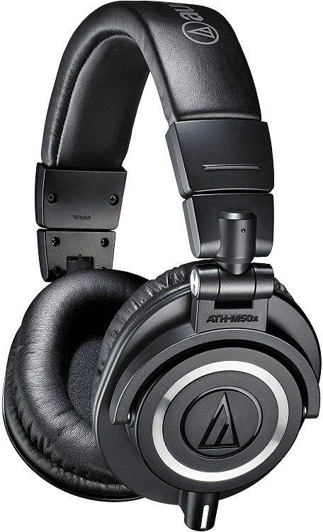 Audio-Technica ATH-M50x Professional Studio Monitors