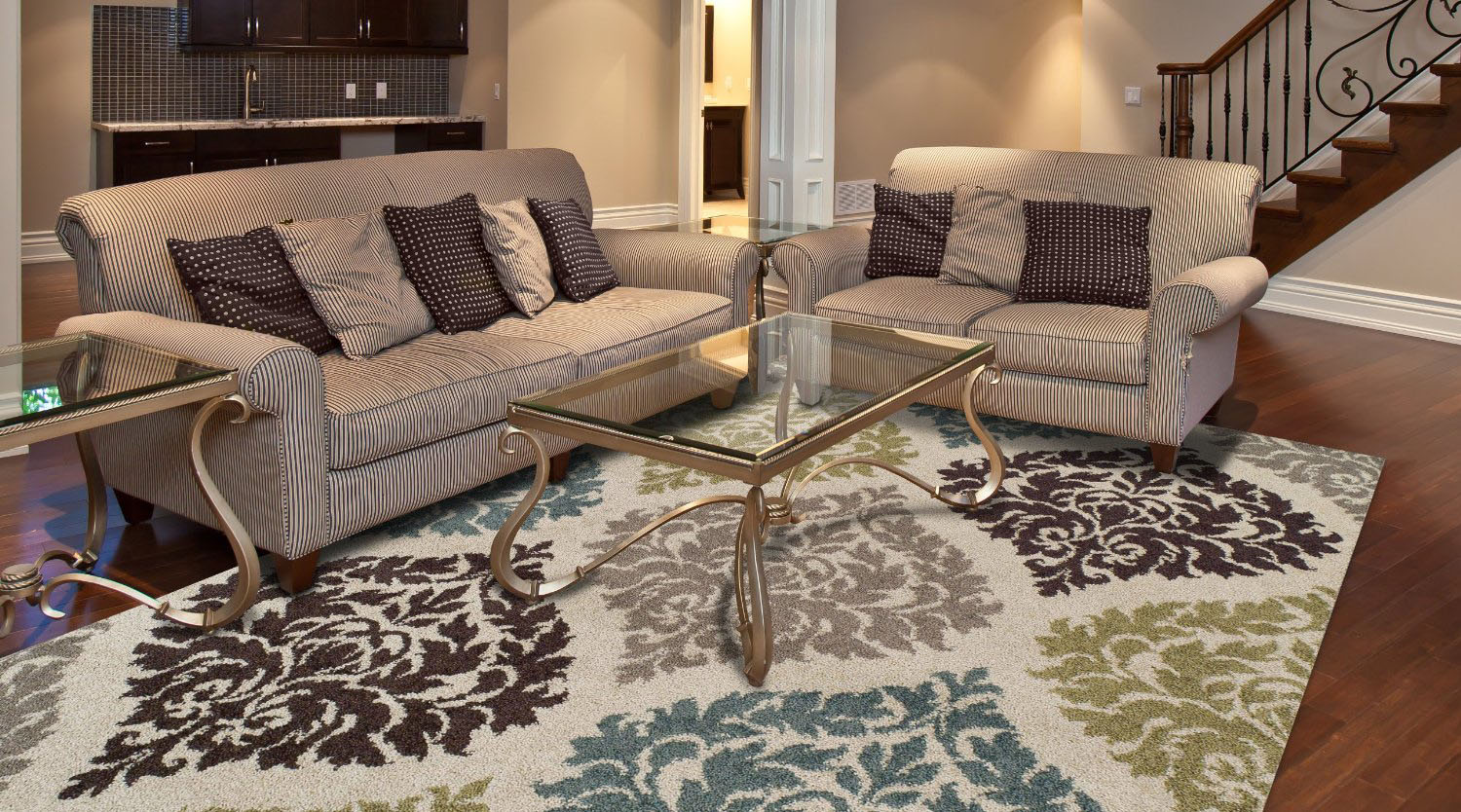 Area Rugs for Cozy Living Room