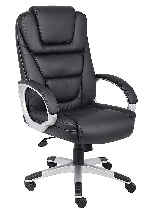 Boss Executive LeatherPlus Office Chair