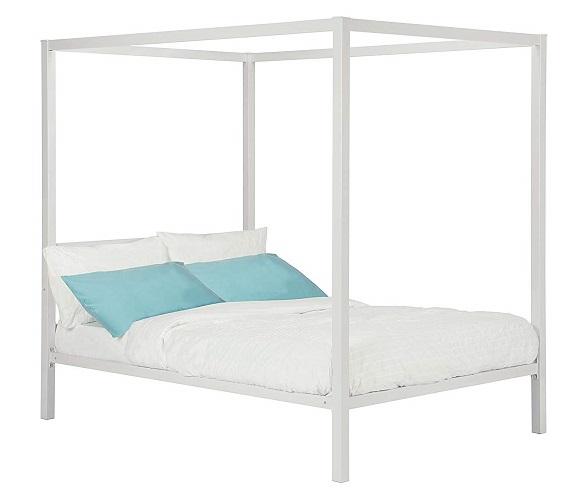 DHP Modern Metal Canopy Bed