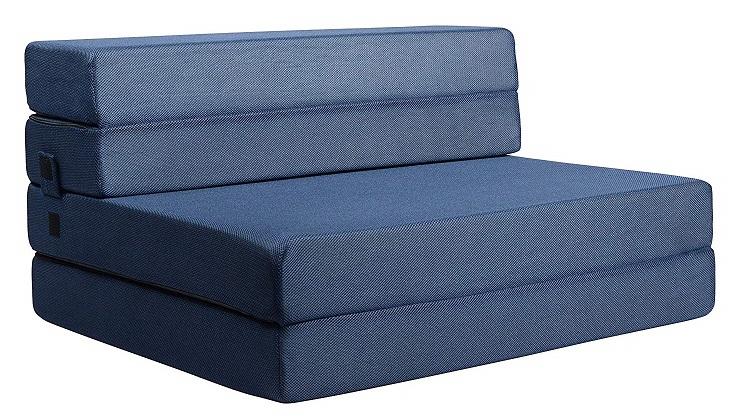 Milliard Tri-Fold Foam Folding Mattress and Sofa Bed