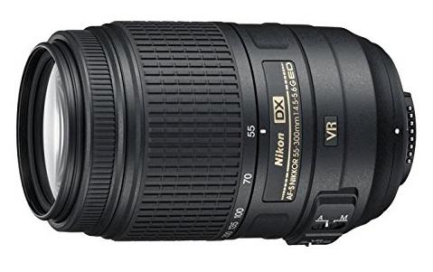 Nikon 55-300mm f/4.5-5.6G ED VR AF-S DX Nikkor