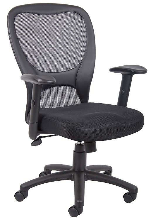 boss Budget Mesh Cheap Office Chair