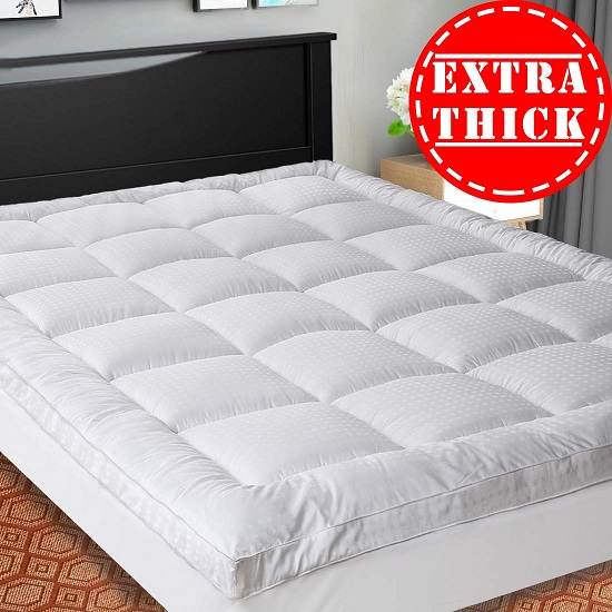 extra thick mattress topper