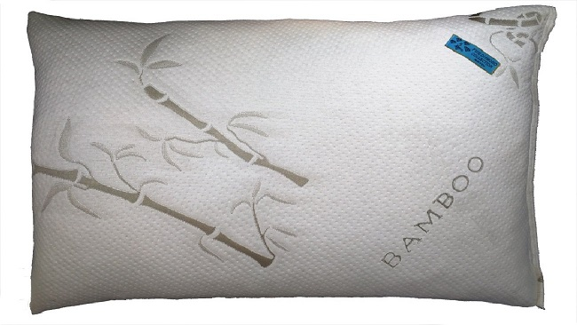 Five Diamond Bamboo Covered Shredded Memory Foam Pillow