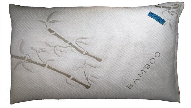 Five Diamond Bamboo Covered Shredded Memory Foam Pillow