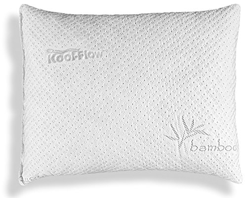Slim Hypoallergenic Bamboo Pillow