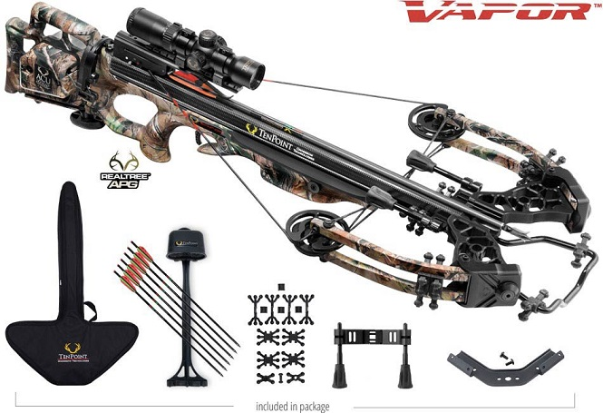 tenpoint vapor crossbow package