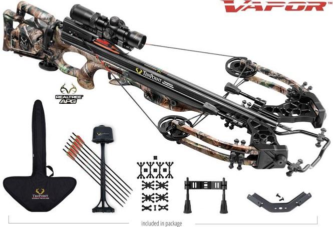tenpoint vapor crossbow package
